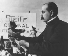 Mr. Richard Steiff - Designer and creator of the first stuffed toy bear