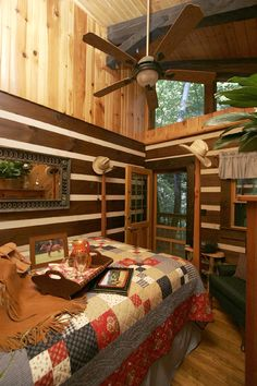 Jump Off Room at Creekwalk Inn Whisperwood Farm Retreat in Gatlinburg, Tennessee  www.visitmysmokie...