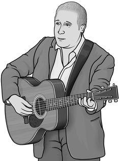 guitar (singer songwriter : Paul Simon)
