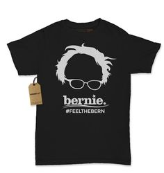 "2016 Most Popular Women's ""Feel the Bern"" T-Shirt by Expression Tees"