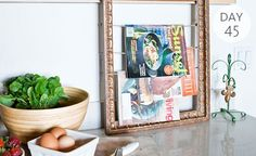 Organization Tip Of The Day: Create Your Own Magazine Rack