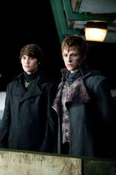The Volturi. Alec and Demetri- Twilight