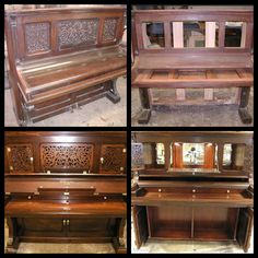 Some more shots from the piano bar up-cycling. They did such a great job.