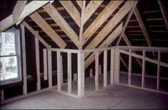 Framing an #Attic Addition: Create new and inexpensive living space - http://www.homeadditionplus.com/attic_info/Framing-an-Attic-Addition.htm