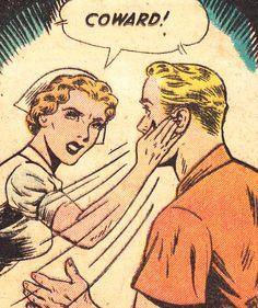 Despite her best efforts, Nurse Ratchet's slaps raised NO corresponding sound effects...