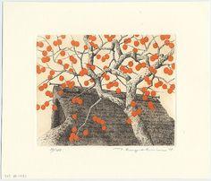 """""""Persimmon Tree at Anao"""" by Tanaka, Ryohei"""
