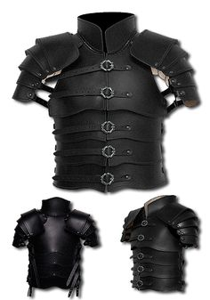 Leather armour Commander