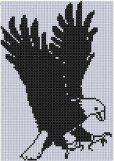 Eagle 3 Cross Stitch Pattern