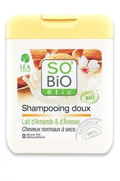 Shampooing Bio Lait d'Amande et d'Anesse SO'BiO étic