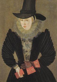 Joan, 1st wife of Edward Alleyn by an artist of the Britih School, 1596. (Dulwich Picture Gallery)