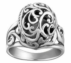 Carolyn Pollack Sterling Signature Bead Ring.   Love this ring! @Carolyn Pollack Jewelry