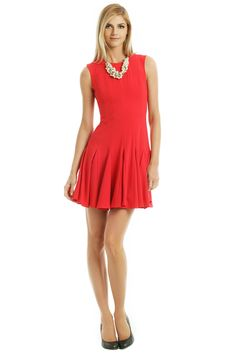 RB - Rent Kalyn Godet Dress by BCBGMAXAZRIA for $40 only at Rent the Runway.