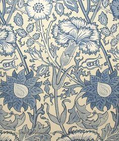 Pink & Rose tapeter från William Morris® (WM156-02) hos Engelska Tapetmagasinet. ✓ Beställ fraktfritt online ✓ Snabb leverans