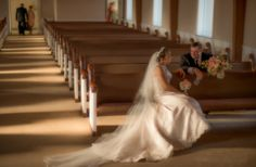 A moment between the bride and her father. Photo by Dana Grace Photography