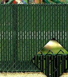 Amazon.com: Green Privacy Fence Slats (for 6' Chain Link): Health & Personal Care