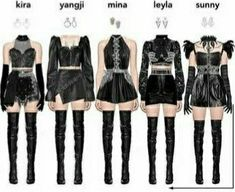 Prom Outfits, Stage Outfits, Girly Outfits, Dance Outfits, Cute Casual Outfits, Korean Girl Fashion, Ulzzang Fashion, Blackpink Fashion, Kpop Fashion Outfits