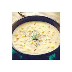 Chef John Folse Crawfish, Corn & Potato Soup