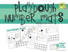 Free-These number mats feature starting black dots for young writers to practice where to start handwriting thier numerals. Also features ten frame imag. Numbers Preschool, Math Numbers, Preschool Kindergarten, Teaching Math, Teaching Ideas, Teaching Tools, Kindergarten Centers, Math Classroom, Classroom Activities