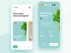 io recipe editor by Edmond Vasar easygrow.io recipe editor by Edmond Vasar Ui Design Mobile, App Ui Design, Web Design Company, Interface Design, Layout Design, Design Websites, Web Layout, Flat Design, User Interface