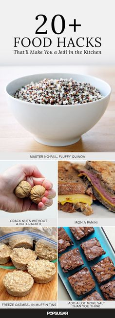 The best food hacks to know for life!