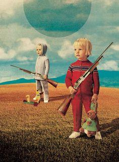 art planet- urban culture: Julien Pacaud e suas ilustrações retrô - futuristas
