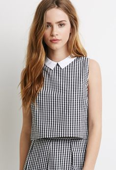 forever-21-whiteblack-collared-gingham-crop-top-white-product-0-571758469-normal.jpeg (750×1101)