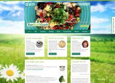 Nieuw website #ontwerp & realisatie voor: Your Health Coach - #Healthy living is a #lifestyle! www.yourhealthcoach.nl #3AMI  #webdesign