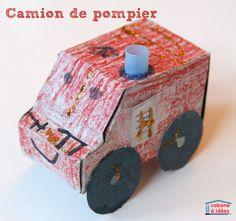 Imprimez ce gabarit voiture en papier pour fabriquer avec des enfants des voitures en papier cartonné. Elle est très simple et il suffit de colorier le gabarit pour fabriquer : une ambulance,Lire la suite...