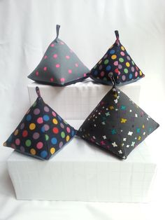 Pyramid Doorstops Craft Stalls, Door Stop, Handmade Accessories, Sewing, Crafts, Craft Booths, Manualidades, Stitching, Crafting