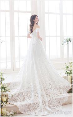 겨울처럼 아름다운 순백의 웨딩드레스 김선재웨딩 -1