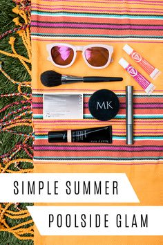 Beat the heat with simple makeup! Create a natural summer look with waterproof…