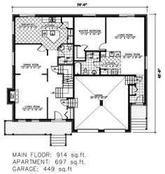 House plans with mother in law suites and a mother for Mother in law garage plans