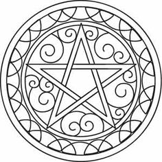Pentacle | Urban Threads: Unique and Awesome Embroidery Designs