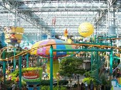 Mall of America. Minneapolis, MN. There isn't another mall like it!