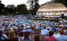 Concert in the Park at the Mancini Bowl. Thursday evenings in summer.