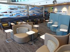 Shuffles & Flamingos at Delta Sky Lounge in the Seattle Airport @products4people