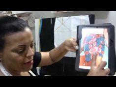 Aula #021: Saia envelope e apresentação da nova modelagem da Faby - YouTube