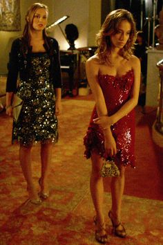#blair #waldorf #queen #gg #leighton #diva #gossip #girl #season #two #2x09 #ThereMightbeBlood