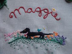 Maggie Bug: broderie