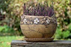 Keramika u Lavender Slab Pottery, Pottery Bowls, Ceramic Pottery, Pottery Art, Ceramic Planters, Ceramic Vase, Pottery Supplies, Wheel Thrown Pottery, Pottery Sculpture