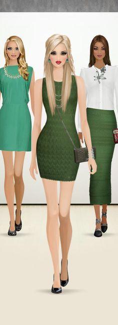Style Match Kelly Green