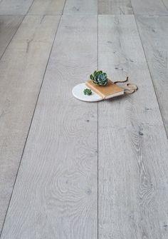 Ash Grey is a worn looking European Oak Timber Flooring Grey Floorboards, Grey Wood Floors, Timber Flooring, Grey Flooring, Hardwood Floors, Hall Flooring, Kitchen Flooring, Royal Oak Floors, Living Room Wood Floor