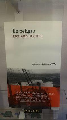 """""""En peligro"""" de Richard Hughes. Gatopardo Ediciones."""