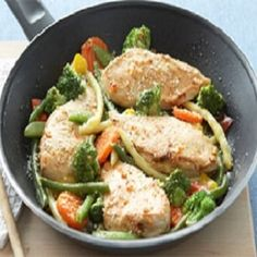 chicken-vegetables-parmesan