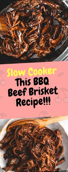 This BBQ Beef Brisket recipe makes the most tender and flavorful brisket as it slows cooks all day! It's the only brisket recipe you'll ever need… Ingredients [ For 8 to 9 people ] [ Preparation time : 12 minute – Cooking time : Continue Reading → Beef Brisket Recipes Crockpot, Beef Brisket Slow Cooker, Shredded Beef Recipes, Bbq Brisket, Braised Brisket, Crockpot Dishes, Beef Dishes, Crockpot Meals, Steak Recipes