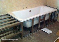 Экраны и каркасы для ванной: изготовление и установка самостоятельно    Для того чтобы скрыть все коммуникации, трубы и сливы, которые находятся под ванной, устанавливается специальный экран. Он в основном несет эстетическую нагрузку для того, чтобы вид нижней части ванны не портил дизайн ванной комнаты. Некоторые современные ванны уже в комплекте поставляются с экранами, которые идеально подходят к ней по внешнему виду и функциональности, однако далеко не все. Для того чтобы не тратиться на…