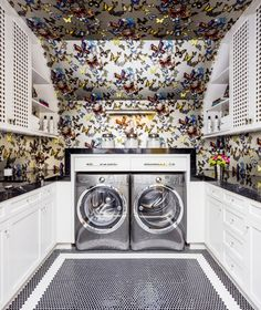 Laundry Room by Evars + Anderson