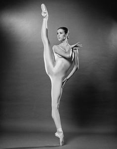 A very young Sylvie Guillem, courtesy of Dance Magazine.