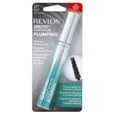 Buying Review Revlon Grow Luscious Plumping Mascara Waterproof, Blackest Black WP, 0.34 Fluid Ounce