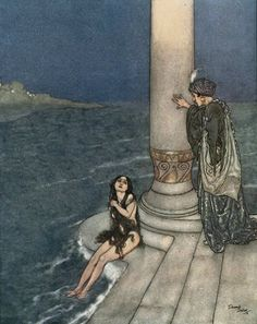 """""""The Little Mermaid"""" by Edmund Dulac"""
